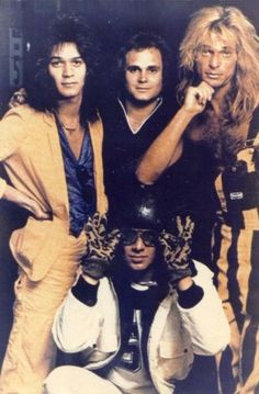 Van Halen from the looks of it, probably 1980 Alex Van Halen, Eddie Van Halen, Rock N Roll Music, Rock And Roll, Music Is Life, My Music, David Lee Roth, Best Rock Bands, Famous Musicians