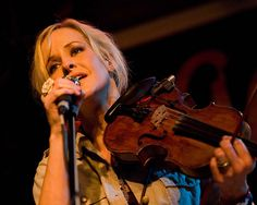 Martie Maguire from the dixie chicks... my favorite fiddle player!