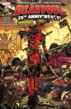 The cover to Deadpool #7 (2016), art by Tony Moore