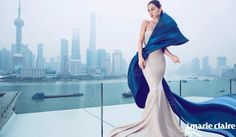 Angelababy by Chen Man for Marie Claire China June 2015 #Shanghai