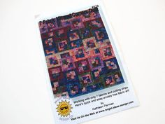 MITERED CORNERS Quilt Pattern by Bright Ideas Design by Jambearies, $8.00