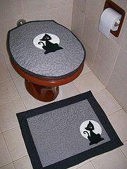 jogo de banheiro em tecido - Pesquisa Google