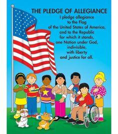 #CDWishList  The Pledge of Allegiance Chart