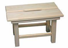Sauna-Hocker aus Massivholz ca. 19cm hoch Stole, Furniture, Home Decor, Stool, Decoration Home, Room Decor, Home Furnishings, Arredamento, Interior Decorating