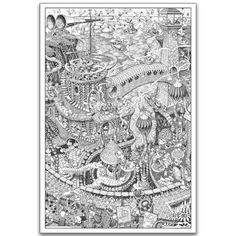 Wildergorn Color-In Posters - Potters\' Road - GIANT coloring ...