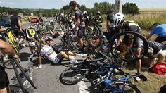 SPORTS And More: #TourFrance15 #photo yesterday fall including #Por...