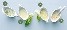 Rezepte für extra schnelle Salatdressings