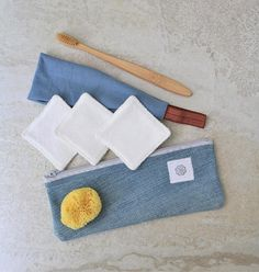 Zero waste face care starter set Reusable cotton squares