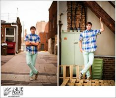 Love using my local Downtown Sioux Falls photography hot spots! Sioux Falls Photography #jpseniors Senior guy poses Senior boy style