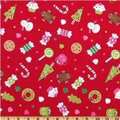 christmas fabric 7.98