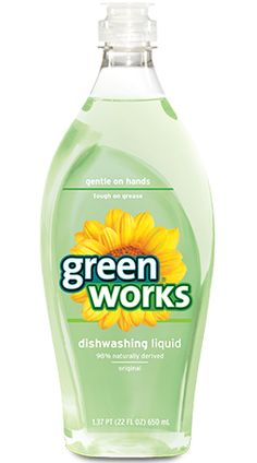 I'm learning all about Clorox Green Works Natural Dishwashing Liquid at Dishwashing Liquid, Liquid Soap, Natural Cleaning Products, Clorox Products, Bottle Packaging, In Case Of Emergency, Fresh And Clean, Emergency Preparedness, New Tricks