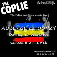 Concert : The Coplie, le 8 avril 2017 à Donzy-le-National : http://clun.yt/2lUl3YG