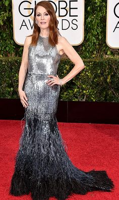 Best dressed at the Golden Globes 2015 - Julianne Moore in Givenchy
