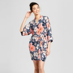 bfe4c2ed07c6 Women s Floral Print Total Comfort Robe - Gilligan   O Malley™ Blue XL XXL