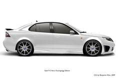 Saab Aero K Edition Sports Sedan Saab 9 3 Aero, Saab 9 2x, Saab 9 3 Viggen, Saab 900 Convertible, Saab Automobile, Dream Car Garage, Sports Sedan, Car Engine, Koenigsegg