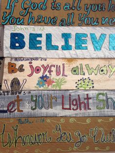 Believe!! Painting by Helen
