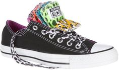 Converse Ctas Multi Tongue Black Leopard Style 744416 Retail 5999 NEW in BOX ** Click on the affiliate link Amazon.com on image for additional details.