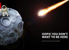 10 Inspirational & Creative example of 404 Error Page Designs #webdesign #creative #inspiration