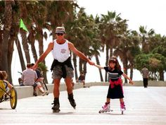 Rollerblading on the strand of any beach can be fun, but it's especially enjoyable seaside in Manhattan Beach. Don't own your own roller blades? Rent a pair from the Hermosa Cyclery then head to the beach to people and glide down the strand.    Cost: adult sizes $6 an hour or $18 all day    Contact: 20 13th St., Hermosa Beach; http://www.hermosacyclery.com/rentals.html    Categories: Kids, Fitness    —J.H.