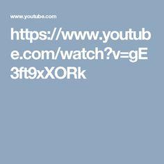 https://www.youtube.com/watch?v=gE3ft9xXORk