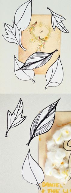 Use illustrations of leaves along with photo paper to create these easy DIY magnets for fall - kids will love making them too!