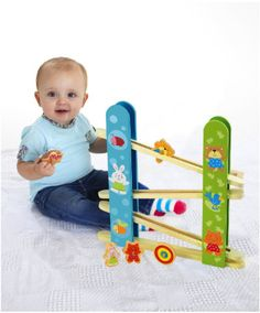 Wooden Tumble And Spin Run