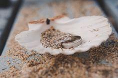 Wedding Rings, beach, shells, wedding rings beach wedding, oyster shell wedding rings, wedding rings, beach wedding