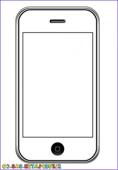 picture of a cell phone art for kids Art For Kids, Crafts For Kids, Coloring Pages For Kids, Art School, Sunday School, Clipart, Art Education, Art Lessons, Classroom