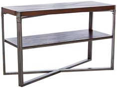 "Woodbrook 48"" Wide Rectangular Burnt Brown Wood Sofa Table Wood Sofa Table, Dining Table, Pewter Metal, Table Sizes, Brown Wood, Wood Veneer, Farmhouse Table, Tables, Table Decorations"
