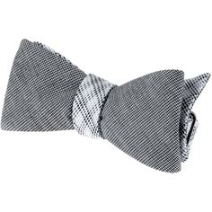 ff45ec076c4f Uhmm it is ore tied. boo but I still like it. Cotton Houndstooth Bow Tie -  Accessories - online menswear store