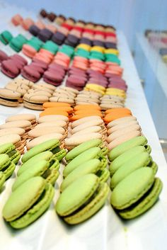 Lette Macarons in Pasadena...... my fave is the violet cassis