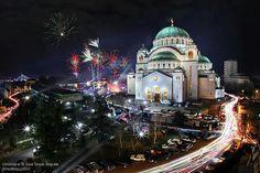 Christmas night in Serbia