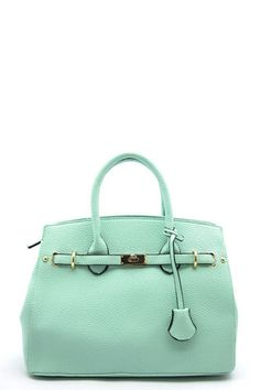 The Bren Satchel is a great color for summer! I love the  #Mint craze right now!