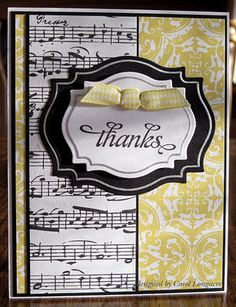 Our Little Inspirations: Another Thank-you Card