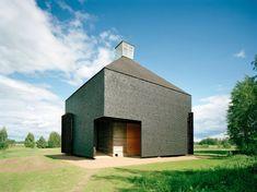 Kärsämäki Shingle Church by Lassila Hirvilammi Architects