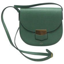 585c42b99a6df CÉLINE Trotteur leather crossbody bag Leather Crossbody Bag