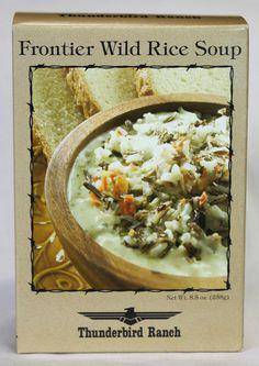 Frontier Wild Rice Soup – Thunderbird Ranch Gourmet Foods