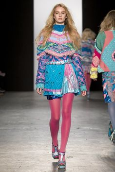 Catwalk photos and all the looks from Westminster University Autumn/Winter 2015-16 Ready-To-Wear London Fashion Week