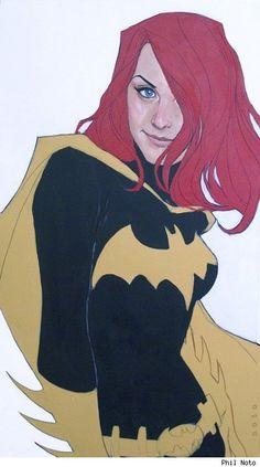 Batgirl by Phil Noto.