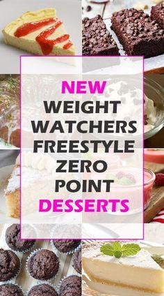 NEW WEIGHT WATCHERS FREESTYLE ZERO POINT DESSERTS!