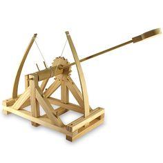 La catapulta de Leonardo da Vinci a tu alcance