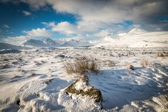 Rannoch Moor, Perth and Kinross | 25 Places In Scotland That Are Straight Out Of A Fantasy Novel