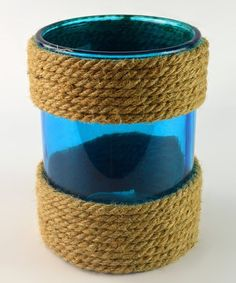 This Blue Rope Glass is perfect by Galt International, $9 !!  #zulilyfinds