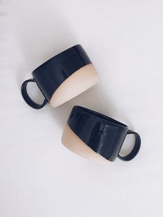 Dip Dye espresso cups #ceramics #homewares