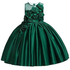 Kids Dresses For Girls Elegant Princess Dress Children Formal Evening Party Dress Flower Girl Wedding Ball Gown vestido infantil Baby Girl Party Dresses, Girls Formal Dresses, Wedding Dresses For Girls, Kids Outfits Girls, Toddler Girl Dresses, Elegant Dresses, Girl Outfits, Dress Party, Dresses For Children