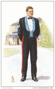 British; Army Air Corps, Sergeant, Mess Dress By Alix Baker