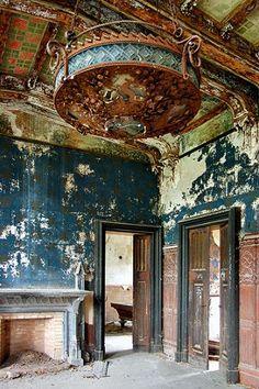 Villa Grosso di Grana (or Castello Neo Gotico or Castello Marene) | Province of Cuneo, in the Piedmont region of Italy.
