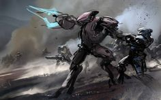 Gears of Halo: Halo Concept Art