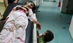 Red faces at the BBC after reporter tweets 'heartbreaking photo of child hurt by Israeli rocket' which is actually a girl in Syria Que Horror, Hidden Photos, Divine Mother, Two Sisters, Baby Sister, Faith In Humanity, My Heart Is Breaking, Oppression, Life Lessons