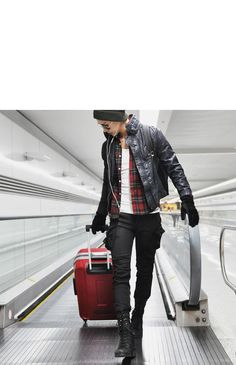 Bottoms :: Jeans :: Wax Coated Oil Cargo Skinny Jeans-Jeans 04 - Mens Fashion Clothing For An Attractive Guy Look